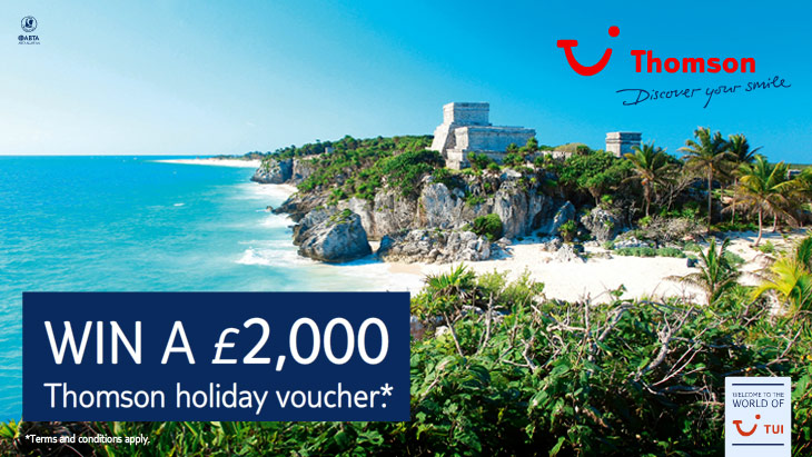 Cancun Thomson Voucher Giveaway