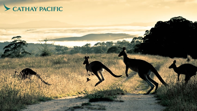 Cathay Pacific Explore Australia Sale from Manchester Airport
