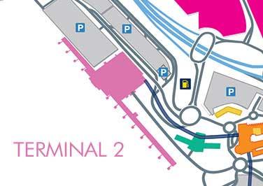 Terminal 2 map