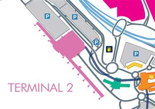 Terminal 2 departures manchester airport terminal 2 map sciox Choice Image