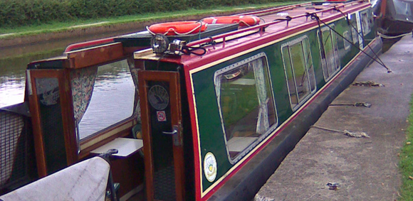 Mary Sunley Canal Boat