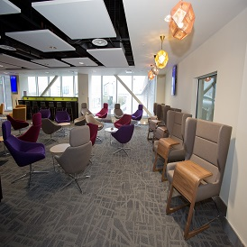 Manchester Airport Terminal 2 Escape Lounge Seating