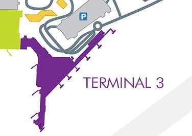 Terminal 3 map