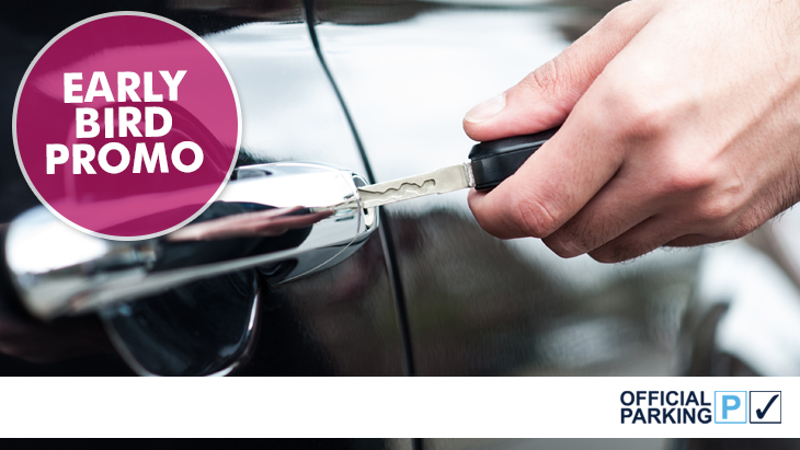 Official Meet and Greet Car Parking Offer