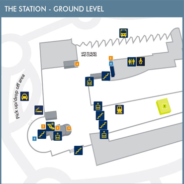 Station Ground Map