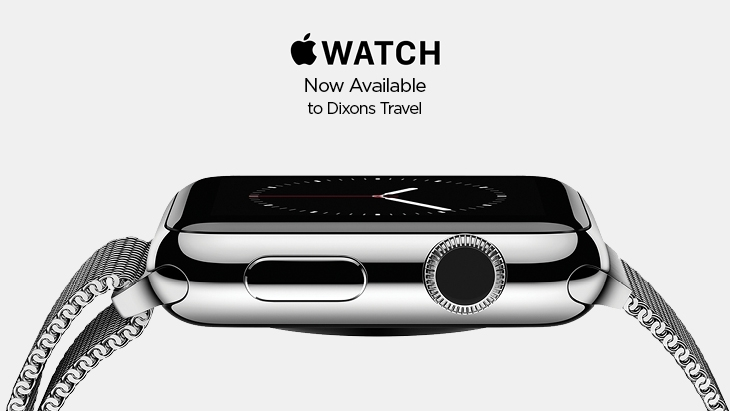 Apple Watch now available at Stansted Airport Dixons Travel