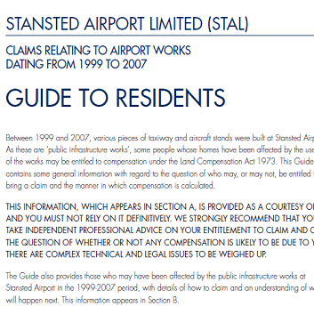 STN Guide To Residents