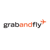 GrabAndFly Flipcard Logo