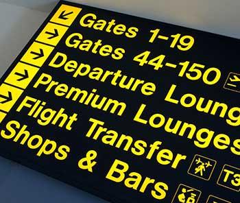 venice airport departures