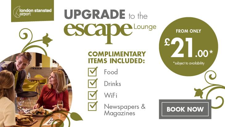 Escape Lounge Offer