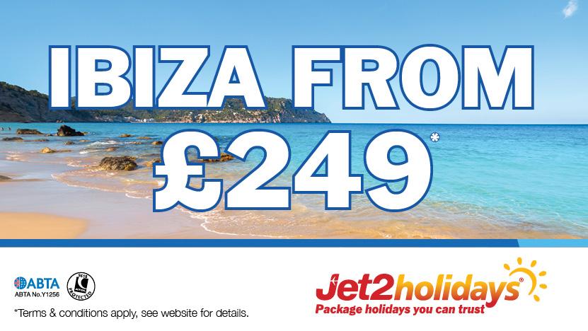 Ibiza with Jet2Holidays