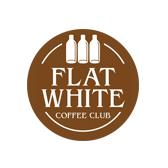 Flat White Flipcard Logo