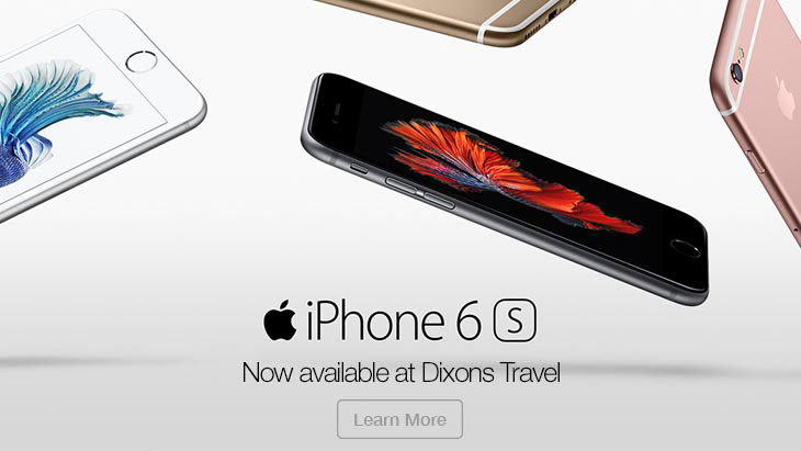 Iphone 6 available at Dixons Travel