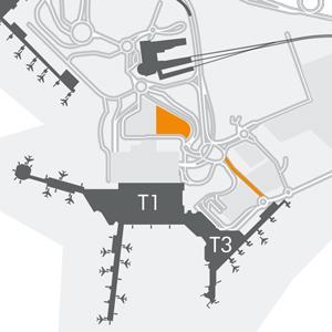 Terminal 1 Meet & Greet Car Parking Maps