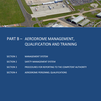 Part B Aerodrome Cover