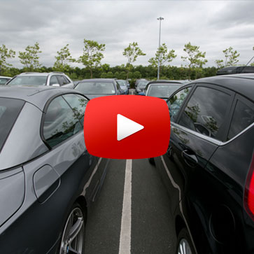 Stansted Airport MidStay Car Parking Directional Video
