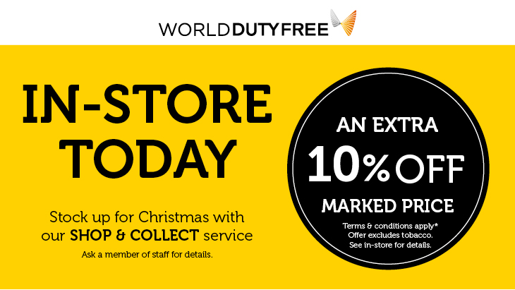 Exclusive 10% off Friday and Saturday!