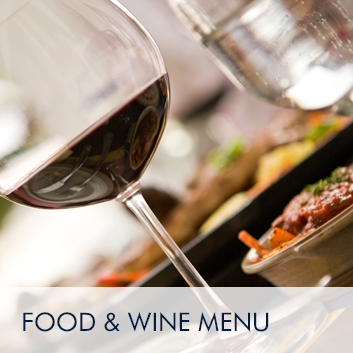 Food and Wine Menu