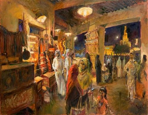 Evening -Bazaar