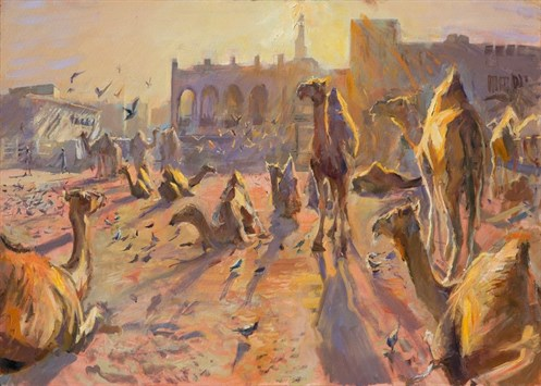Sunrise -with -the -Camels