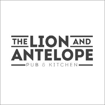 Lion & Antelope