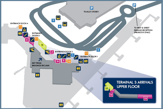 Map manchester airport terminal 3 bnhspine terminal 3 manchester airport m4hsunfo